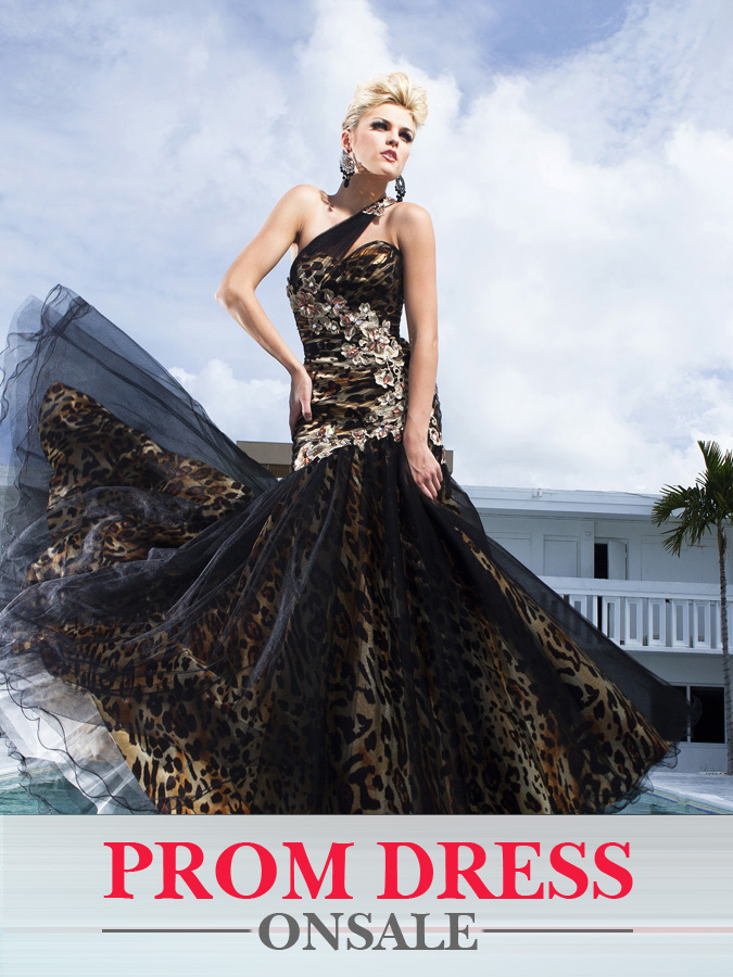 Black One-Shoulder Floor Length Mermaid Prom Dress With ... One Shoulder Black Prom Dress