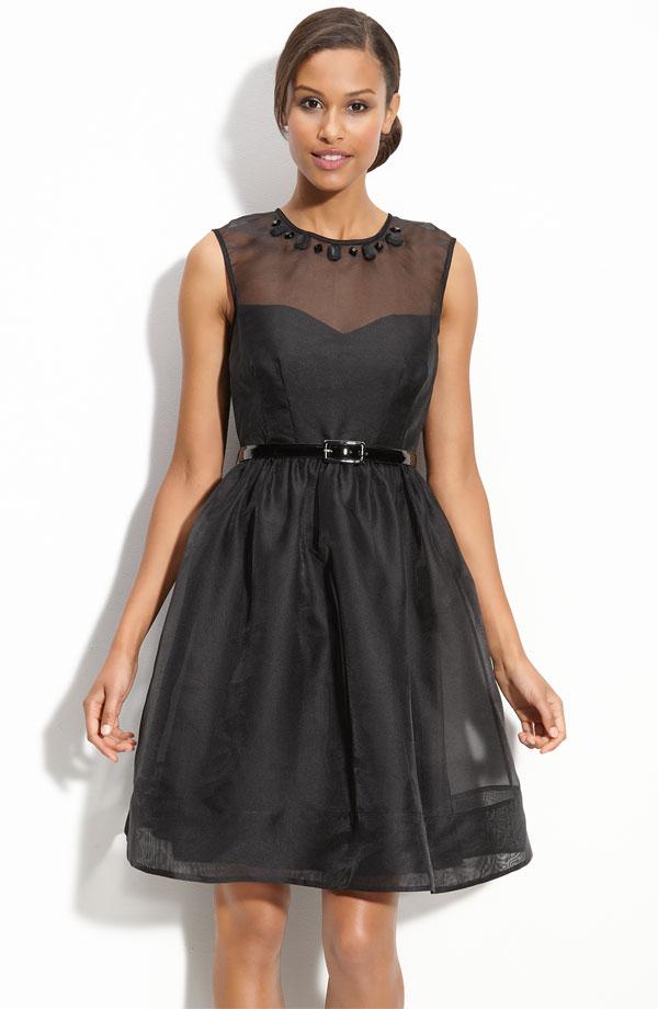 d8a657f81 Hot Sale Black a Line Sleeveless Zipper Knee Length Prom Dresses