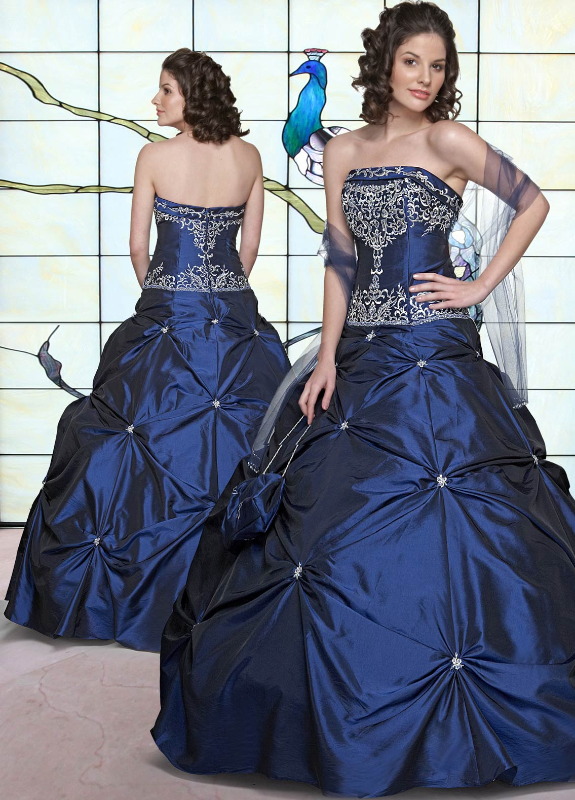 01d0b92f624 Hot Sale Royal Blue Ball Gown Strapless Zipper Full Length Beading  Embroidered Quinceanera Dresses
