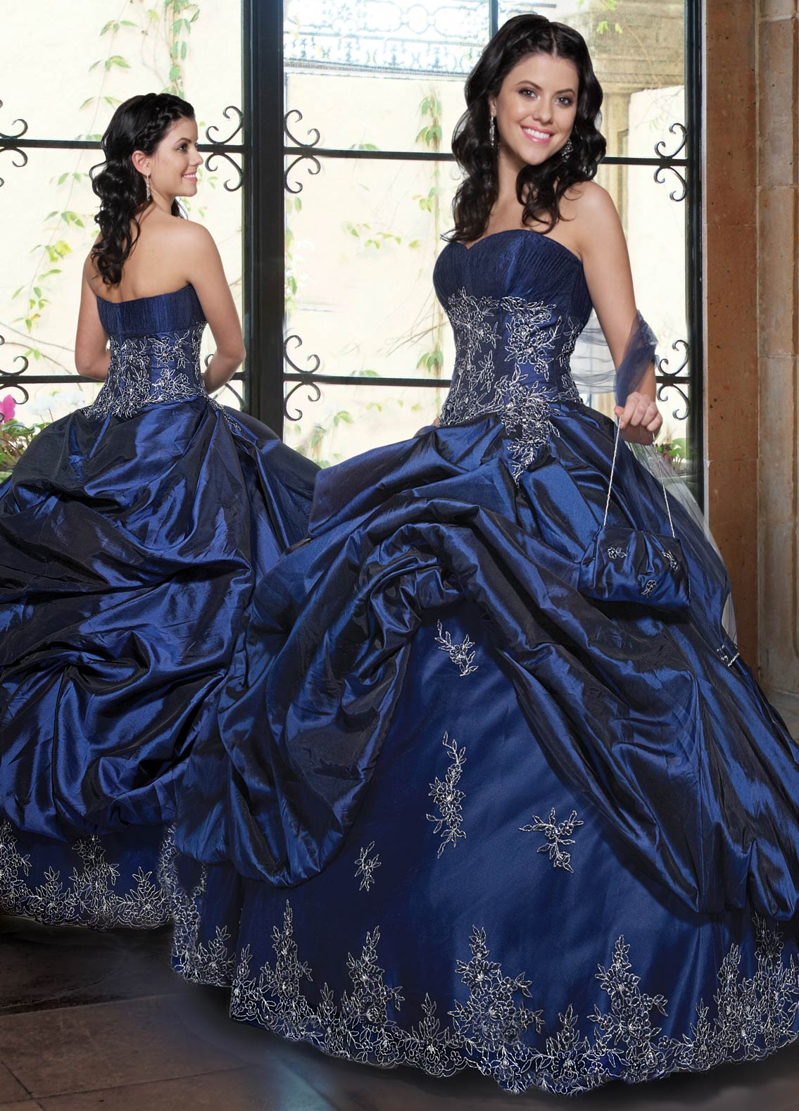 b567cfe1c72 Sweetheart and Strapless Zipper Floor Length Royal Blue Ball Gown  Quinceanera Dresses With Beading Appliques and Ruffles
